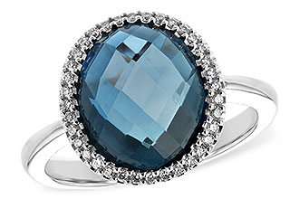 A189-38194: LDS RG 5.31 LONDON BLUE TOPAZ 5.45 TGW
