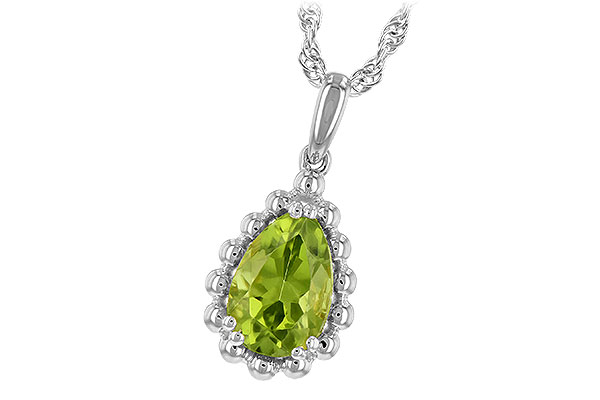 C189-40076: NECKLACE 1.30 CT PERIDOT
