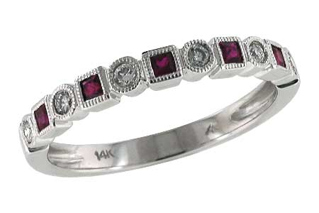 D096-70085: LDS WED RG .18 RUBY .30 TGW