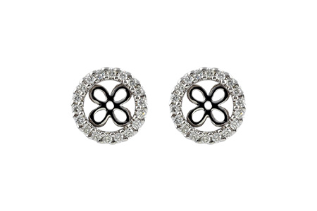 E187-58203: EARRING JACKETS .30 TW (FOR 1.50-2.00 CT TW STUDS)
