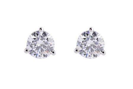 F183-97294: EARRINGS 1.04 TW