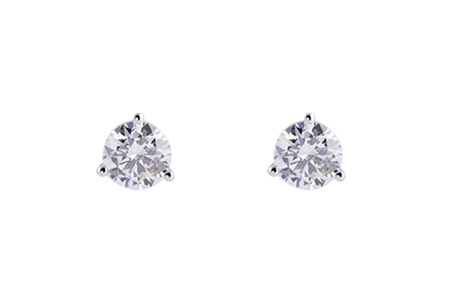 F183-97303: EARRINGS .40 TW