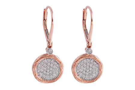 F184-89094: EARRINGS .42 TW