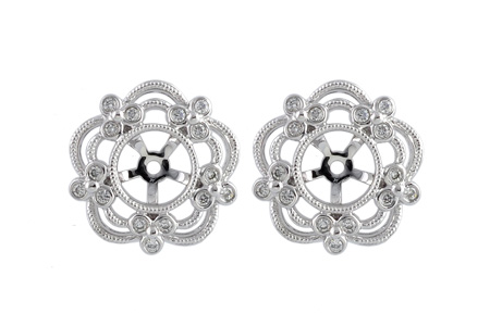 F185-76448: EARRING JACKETS .16 TW (FOR 0.75-1.50 CT TW STUDS)