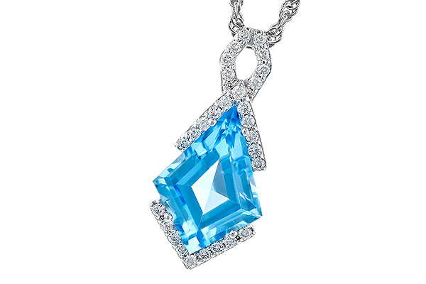 F273-01821: NECK 2.40 BLUE TOPAZ 2.53 TGW