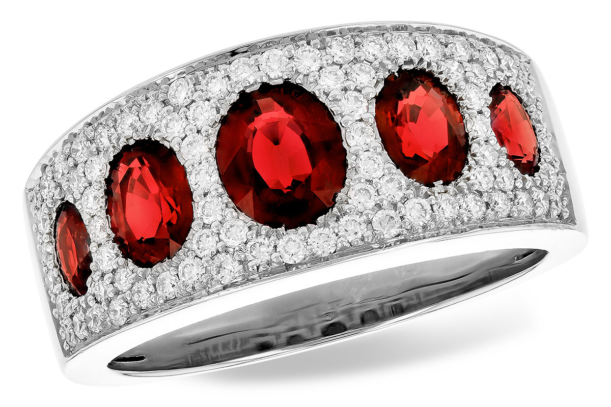 F273-03657: LDS WED RG 1.60 TW RUBY 2.00 TGW