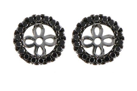 G188-46375: EARRING JACKETS .25 TW (FOR 0.75-1.00 CT TW STUDS)