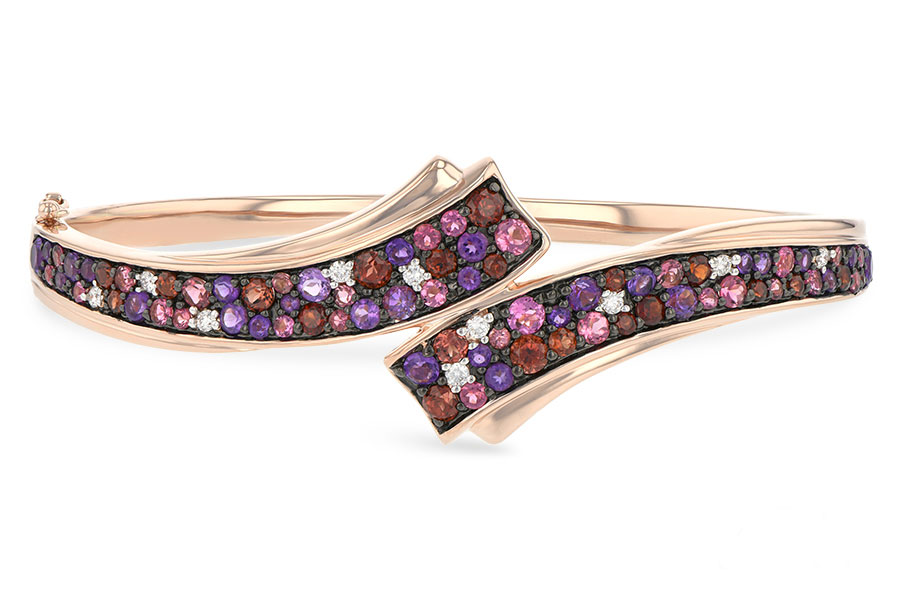 G188-51866: BANGLE 3.12 MULTI-COLOR 3.30 TGW (AMY,GT,PT)