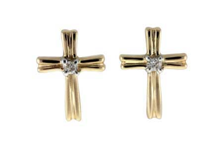 H000-34584: EARRINGS .03 TW