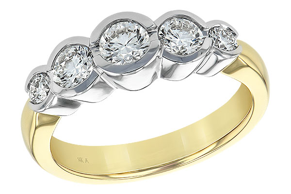 K093-05493: LDS WED RING 1.00 TW