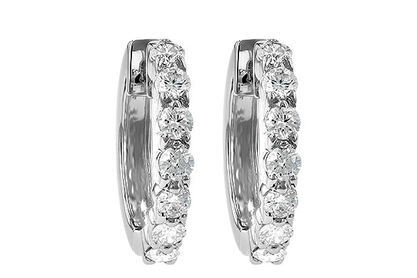 L185-75475: EARRINGS 1.00 CT TW