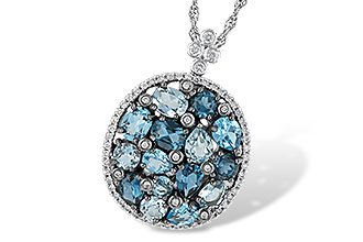 L187-58257: NECK 3.12 BLUE TOPAZ 3.41 TGW