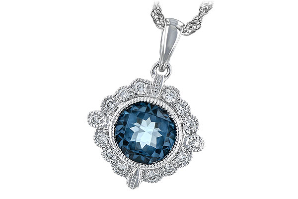 L189-39139: NECK .98 BLUE TOPAZ 1.10 TGW
