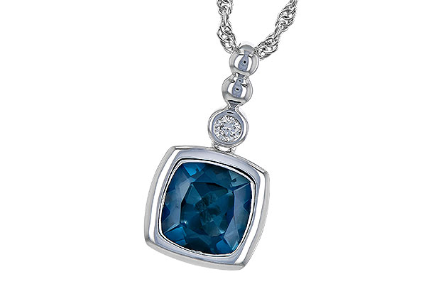 L190-30011: NECK 1.50 LONDON BLUE TOPAZ 1.54 TGW