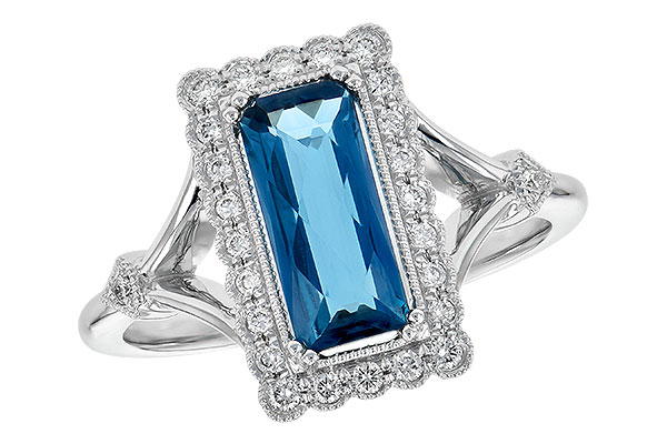 M190-32802: LDS RG 1.58 LONDON BLUE TOPAZ 1.75 TGW